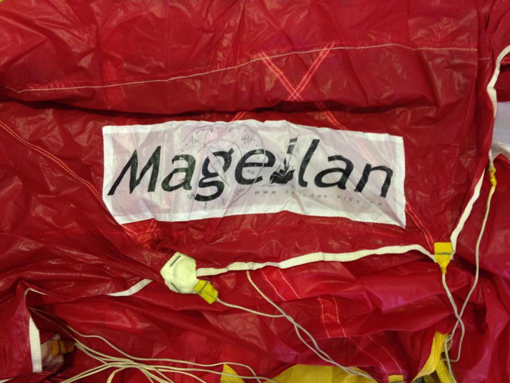 Продам магелан 170 за 800$ 300 прыжков сине-белый отличное состояние купол находится на dz mayskoe днепропетровск